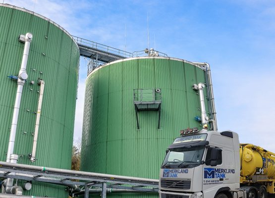 Anaerobic Digester Tank Cleaning Image