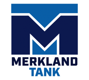 Merkland Tank Logo Stacked Version